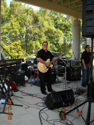 Louisville's Own Band Lead Guitarist Joe Jecker
